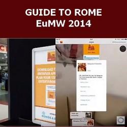 """""""GUIDE TO ROME"""" EuMW 2014"""