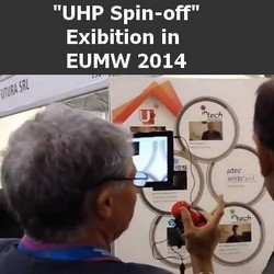 """""""UHP spin-off"""" exhibition in EuMW 2014"""